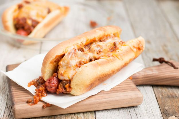 Recette de hot-dog au chili