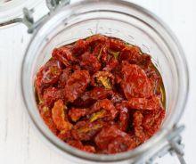 Tomates séchées au four