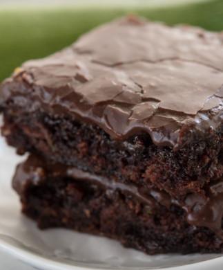 Recette de brownies au zucchini