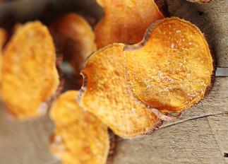 Chips de patates douces au sel et vinaigre