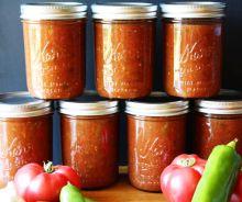 Conserve de salsa