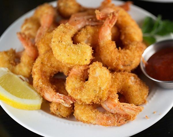 Recette facile de crevettes panées