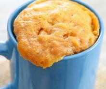 Gâteau au beurre d'arachides (Mug Cake)