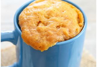 Recette facile de gâteau au beurre d'arachides (Mug Cakes)