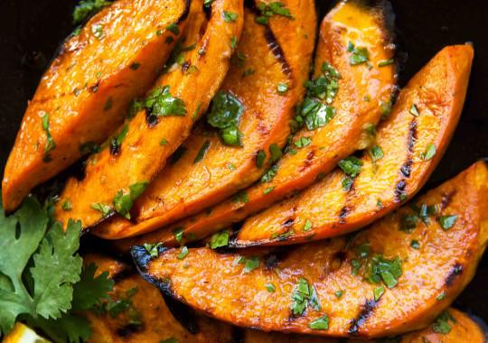 Recette facile de patates douces grillées sur le barbecue