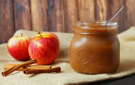 Recette facile de beurre aux pommes