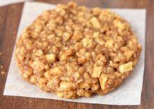 Biscuits à l'avoine et tarte aux pommes