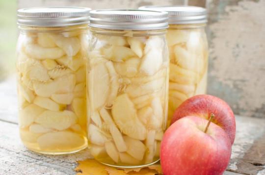 Recette facile de conserves de pommes!