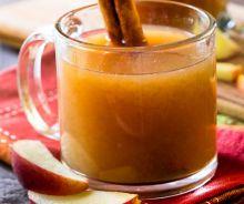 Cidre de pommes (sans alcool) à la mijoteuse