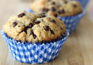 Muffins au beurre d'arachides et chocolat