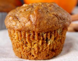 Muffins à la citrouille et aux bananes