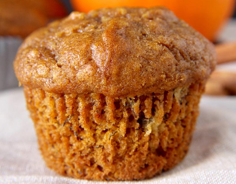 Recette facile de muffins à la citrouille et aux bananes