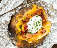 Patates gratinées au bacon à la mijoteuse