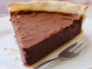 Tarte au fudge au chocolat