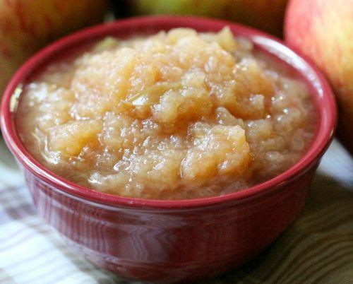 Recette facile de compote de pommes à la mijoteuse