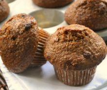 Muffins au son et à la citrouille