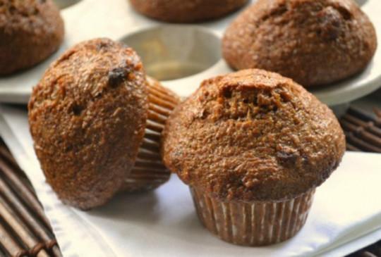Recette facile de muffins au son et à la citrouille!
