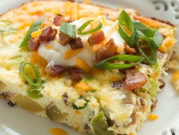 Recette facile de casserole déjeuner aux œufs et pommes de terre