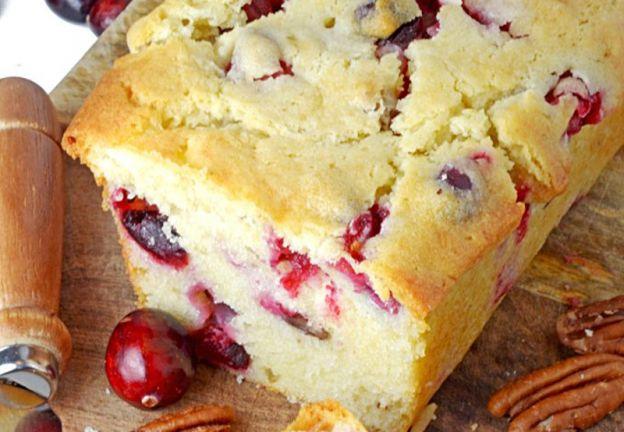Recette facile de pain aux canneberges et pacanes!