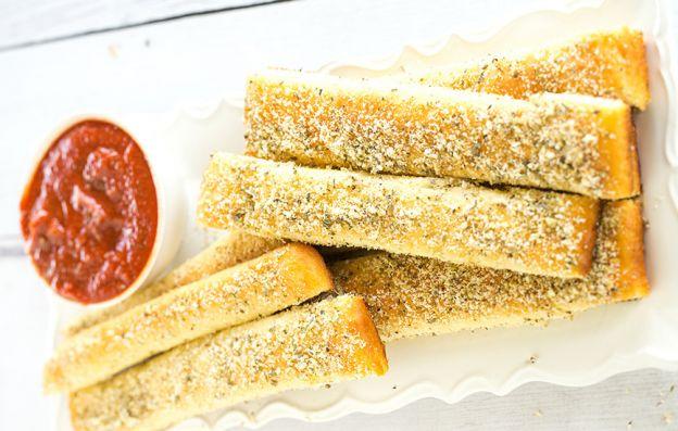 Recette facile des mini-baguettes (style Pizza Hut)