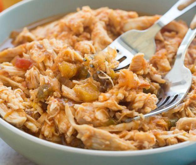 Recette facile de poulet aux mangues et salsa dans la mijoteuse