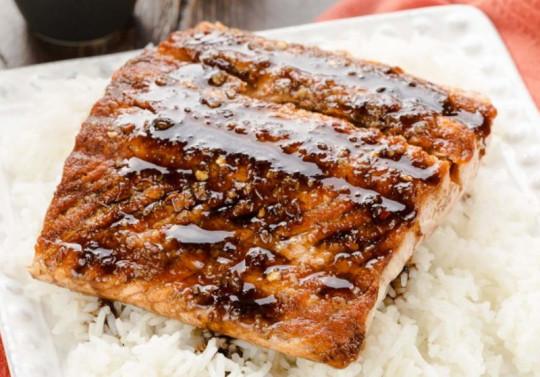 Recette facile de saumon à l'érable et au gingembre!