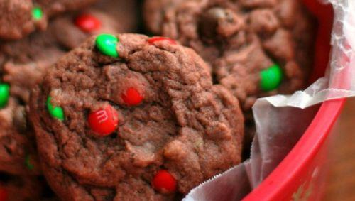 Recette facile de biscuits de Noël au pouding au chocolat!