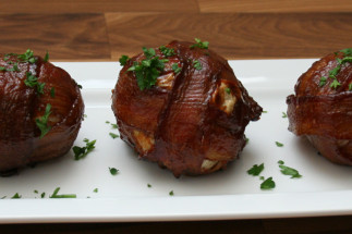 Bombe de boules de viande et de bacon