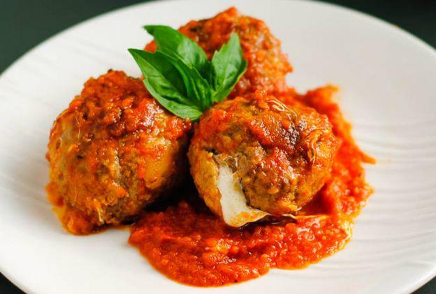 Recette facile de Boulette de viande italienne au fromage à la mijoteuse