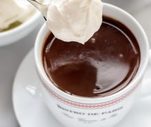 Chocolat chaud (style Bistrot de Paris)