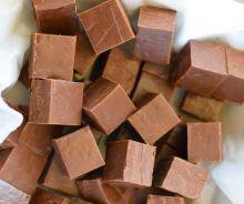 Fudge au chocolat au lait
