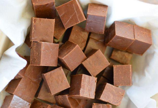 Recette facile de fudge au chocolat au lait