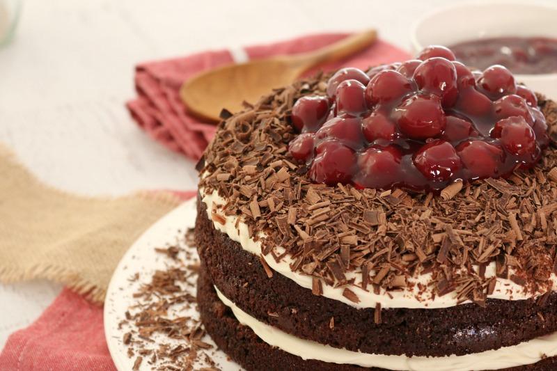Recette facile de gâteau Forêt-Noire