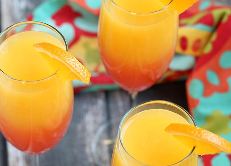 Recette facile de mimosa à la Tequila Sunrise
