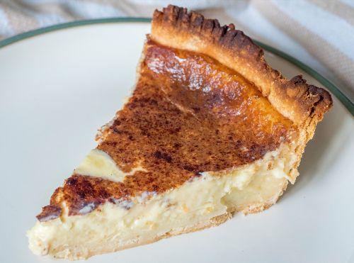 Recette facile de tarte au sucre à la crème