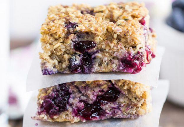 Recette facile de petites barres santé aux bleuets et quinoa