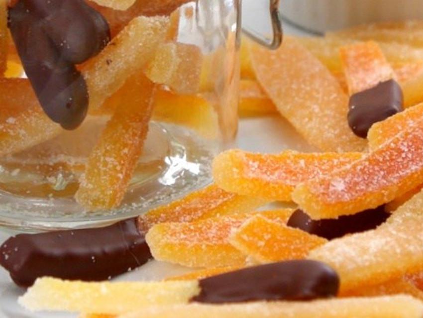 Recette facile d'écorces d'oranges confites!