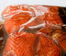 Marinade pour le saumon