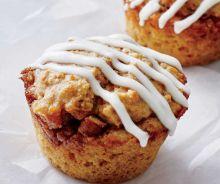 Muffins aux brioches à la cannelle