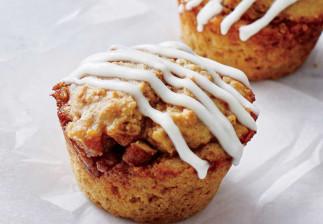 Recette facile de muffins aux brioches à la cannelle