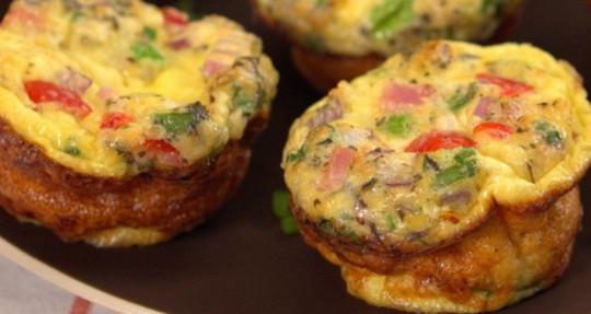 Recette facile d'omelettes pour emporter