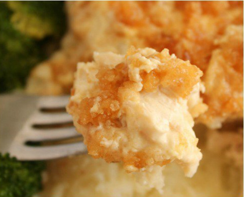 Recette facile de poulet aux biscuits Ritz dans la mijoteuse