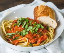 Sauce tomates (5 ingrédients)