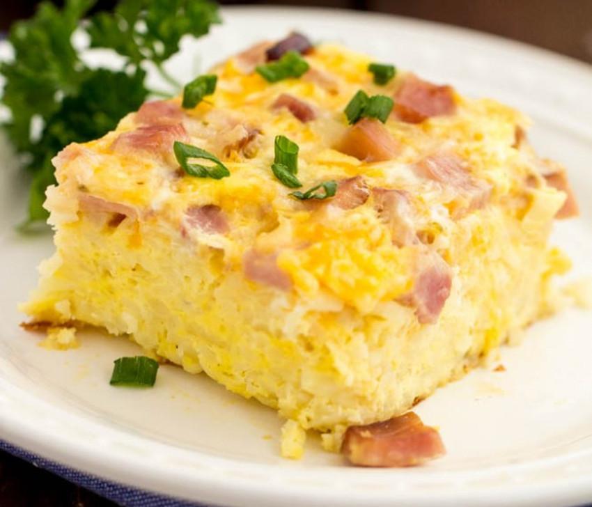 Recette facile de casserole déjeuner!