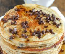 Crêpes santé de blé entier et yogourt grec