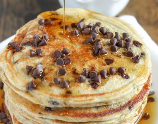 Recette facile de crêpes santé de blé entier et yogourt grec