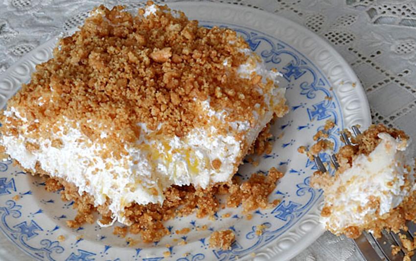 Recette facile de gâteau de rêves aux ananas