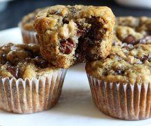 Muffins aux bananes, chocolat et expresso