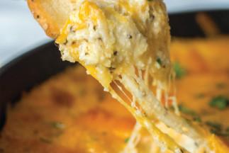 Trempette à l'ail et fromage