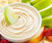 Trempettes pour les fruits (3 ingrédients)